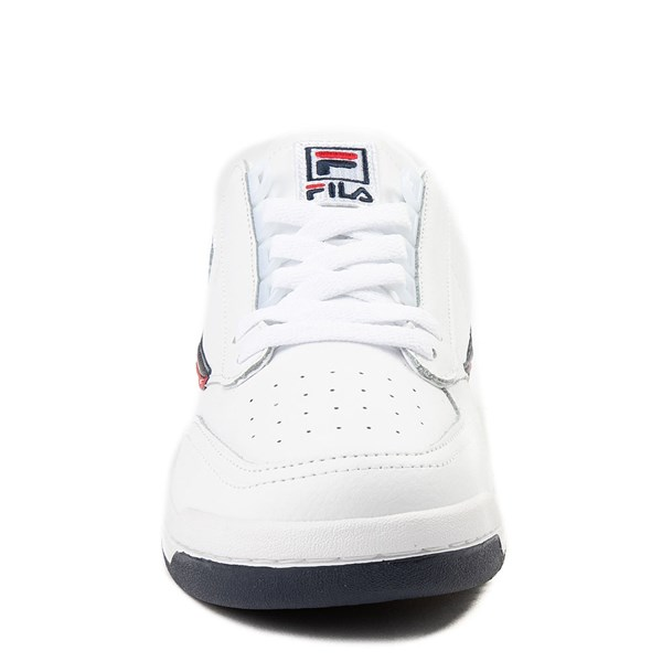 alternate view Mens Fila Original Tennis Athletic Shoe - WhiteALT4