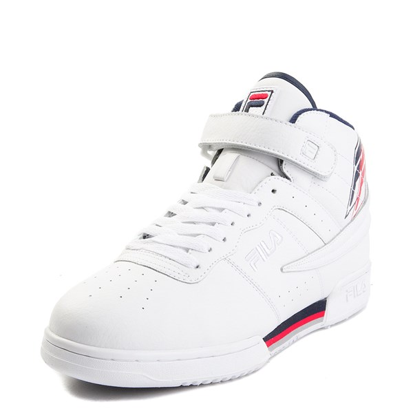 alternate view Mens Fila F-13 F Box Athletic Shoe - WhiteALT1