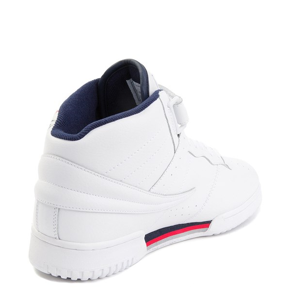 alternate view Mens Fila F-13 F Box Athletic Shoe - WhiteALT2