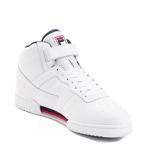 alternate view Mens Fila F-13 F Box Athletic Shoe - WhiteALT3