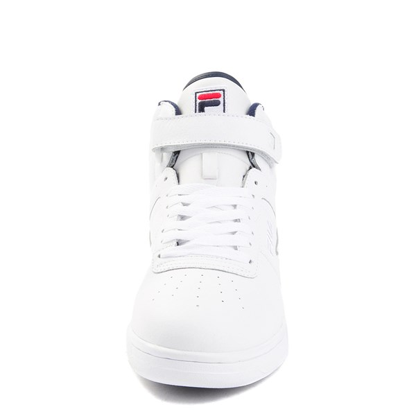 alternate view Mens Fila F-13 F Box Athletic Shoe - WhiteALT4