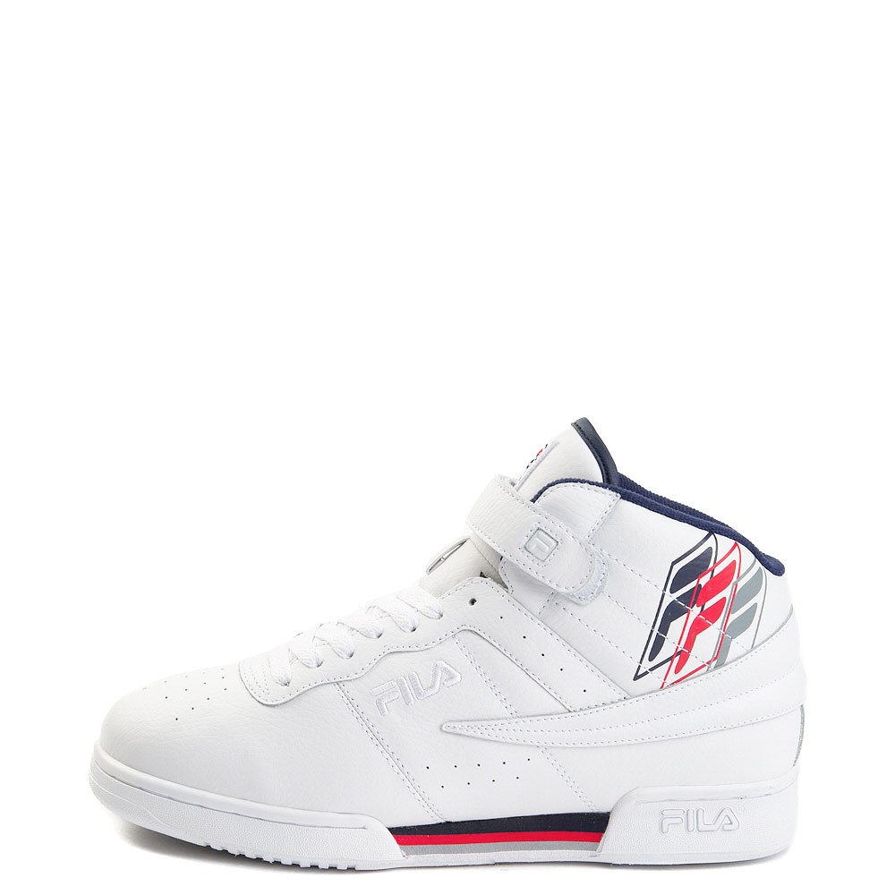Mens Fila F-13 F Box Athletic Shoe - White