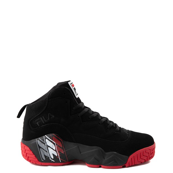 Mens Fila MB F Box Athletic Shoe - Black / Red
