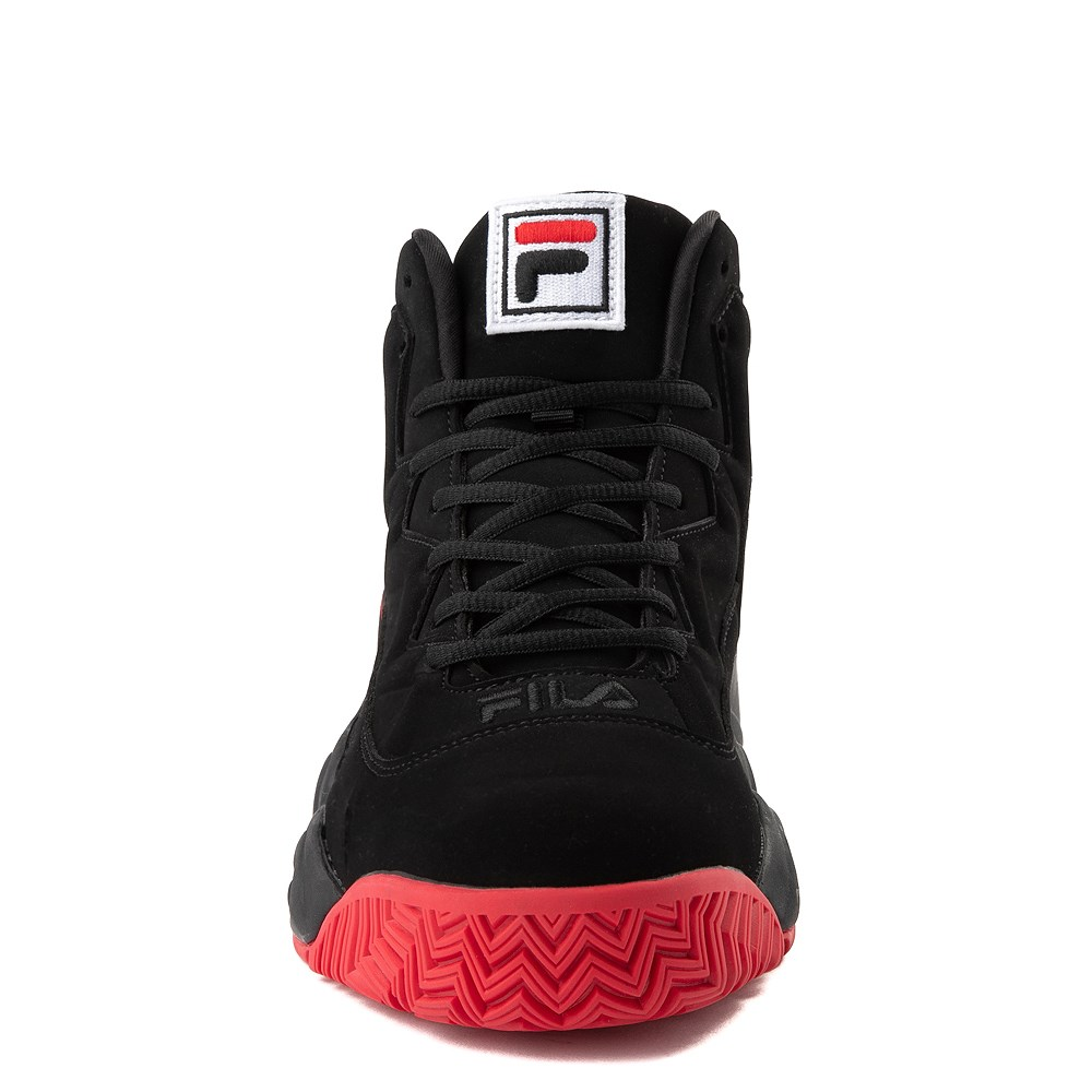 Mens Fila MB F Box Athletic Shoe - Black / Red   Journeys