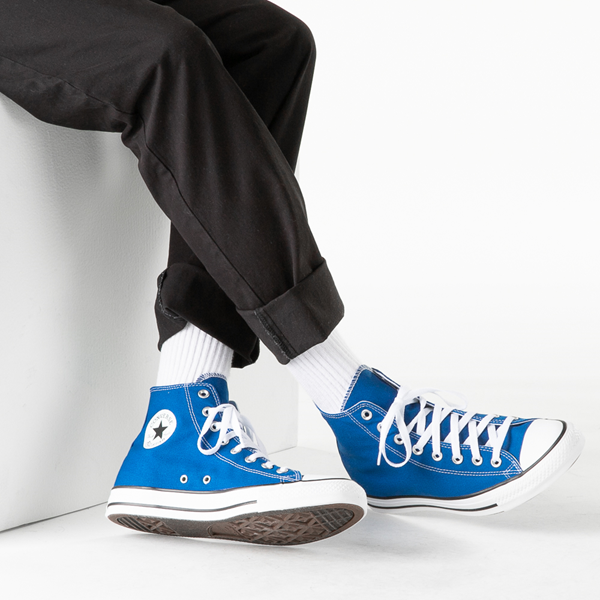 alternate view Converse Chuck Taylor All Star Hi Sneaker - Snorkel BlueB-LIFESTYLE1