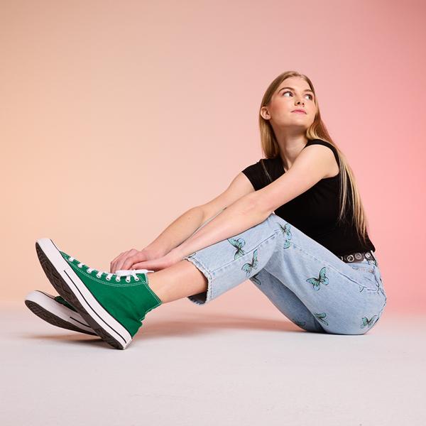alternate view Converse Chuck Taylor All Star Hi Sneaker - Amazon GreenALT1B