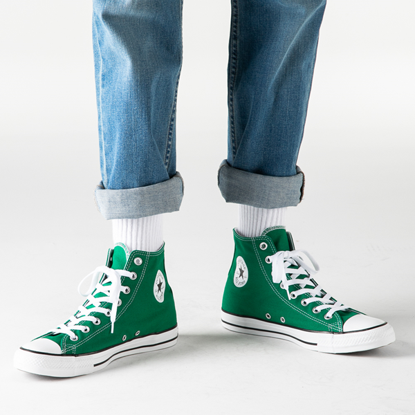 alternate view Converse Chuck Taylor All Star Hi Sneaker - Amazon GreenB-LIFESTYLE1