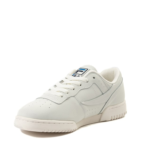 alternate view Mens Fila Original Fitness Premium Athletic Shoe - Ivory / NavyALT3