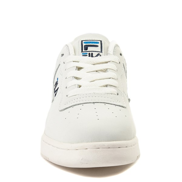 alternate view Mens Fila Original Fitness Premium Athletic Shoe - Ivory / NavyALT4