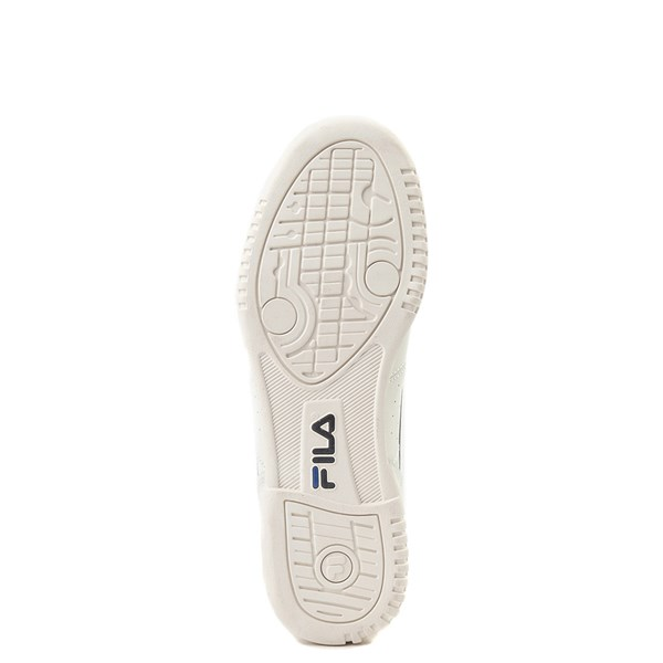 alternate view Mens Fila Original Fitness Premium Athletic Shoe - Ivory / NavyALT5