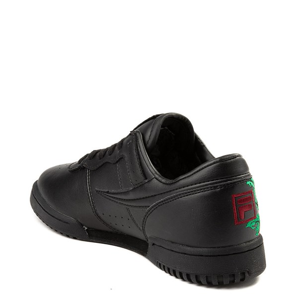alternate view Womens Fila Original Fitness Roses Athletic ShoeALT2