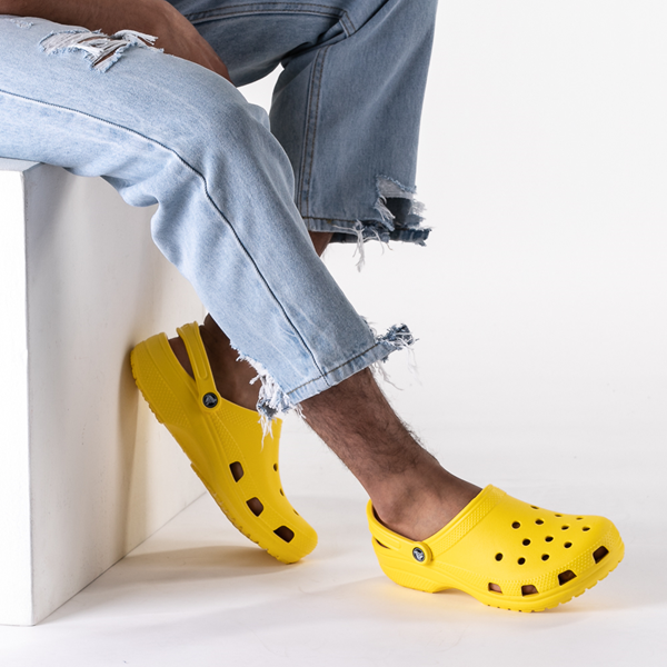 alternate view Crocs Classic Clog - LemonB-LIFESTYLE1