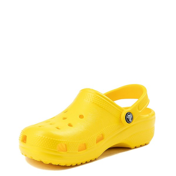 alternate view Crocs Classic Clog - LemonALT3