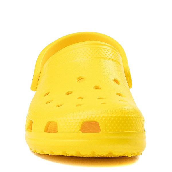 alternate view Crocs Classic Clog - LemonALT4