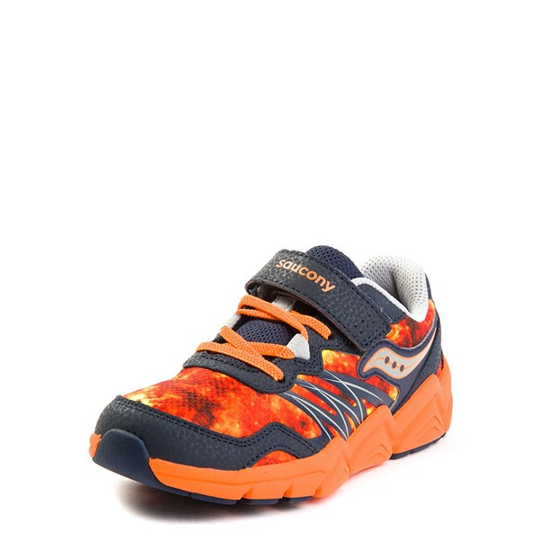 Alternate view of Saucony Flash A / C Athletic Shoe - Little Kid