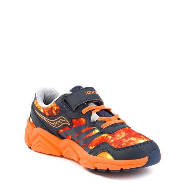 alternate view Saucony Flash A / C Athletic Shoe - Little KidALT3