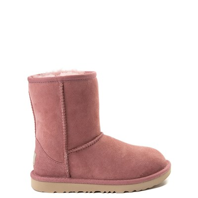 Main view of UGG® Classic II Boot in Pink - Little Kid / Big Kid