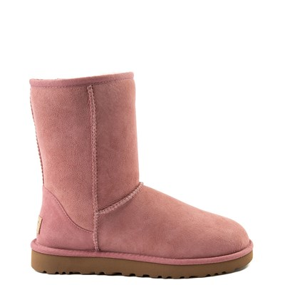 Main view of Womens UGG Classic Short II Boot in Light Pink