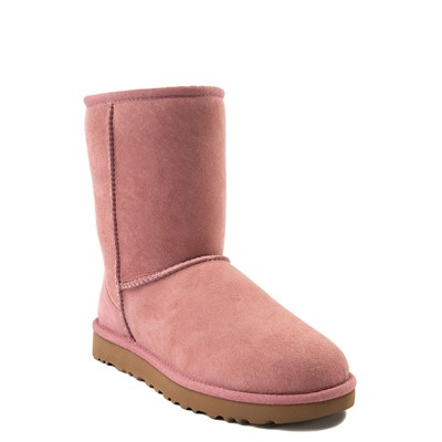 Alternate view of Womens UGG Classic Short II Boot in Light Pink