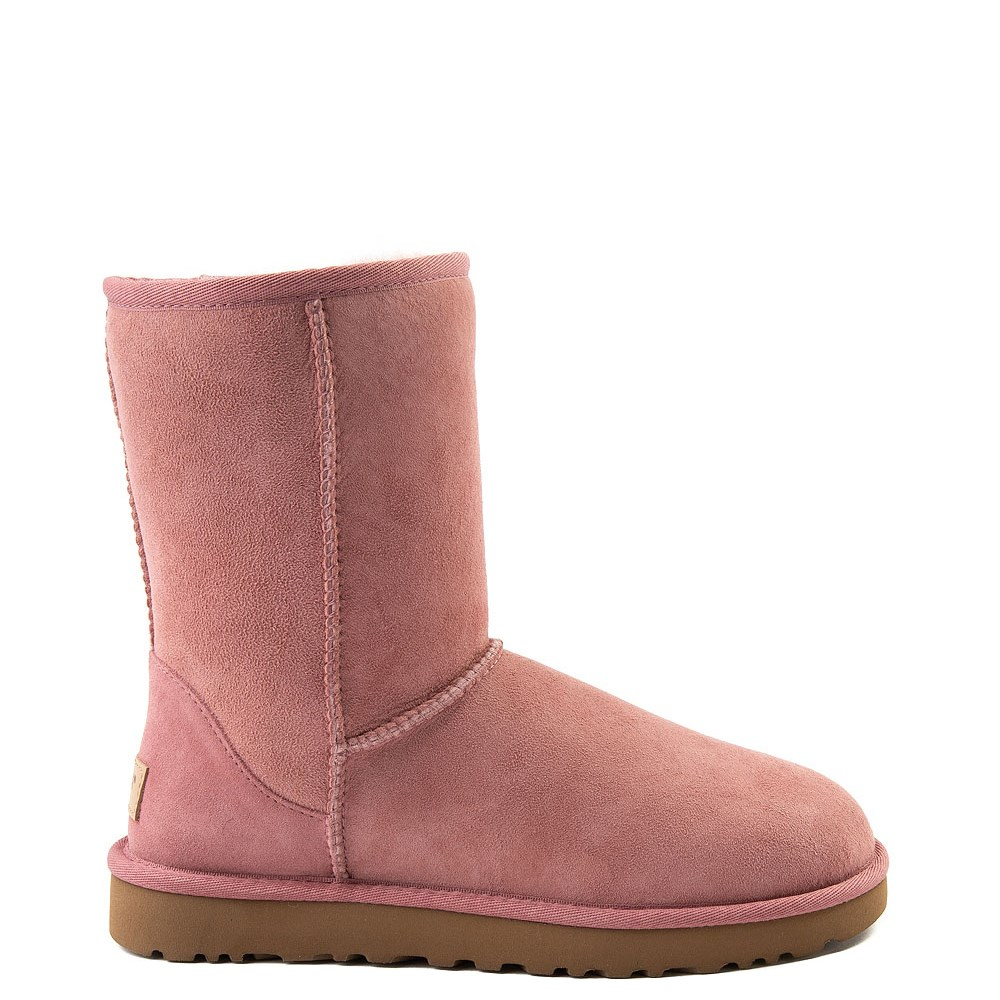 Womens UGG Classic Short II Boot in Light Pink