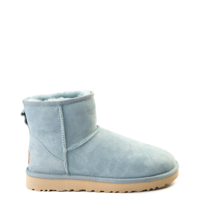 Main view of Womens UGG Classic II Mini Boot in Light Blue