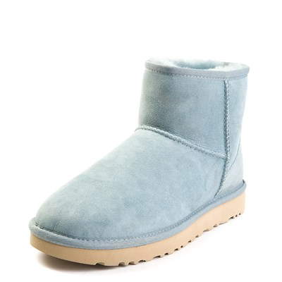 Alternate view of Womens UGG Classic II Mini Boot in Light Blue