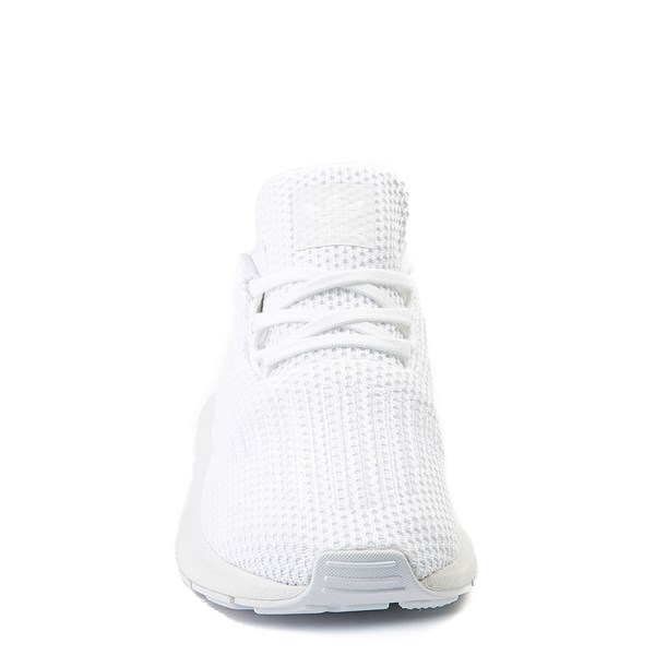 alternate view adidas Swift Run Athletic Shoe - Little Kid - White MonochromeALT4