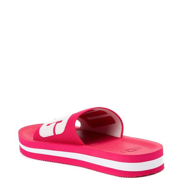alternate view Womens UGG® Zuma Graphic Slide SandalALT2