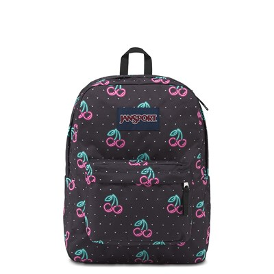 Main view of JanSport Superbreak Neon Cherries Backpack