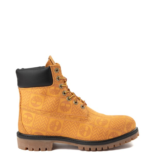 "Main view of Mens Timberland 6"" Premium Patch Boot - Wheat"