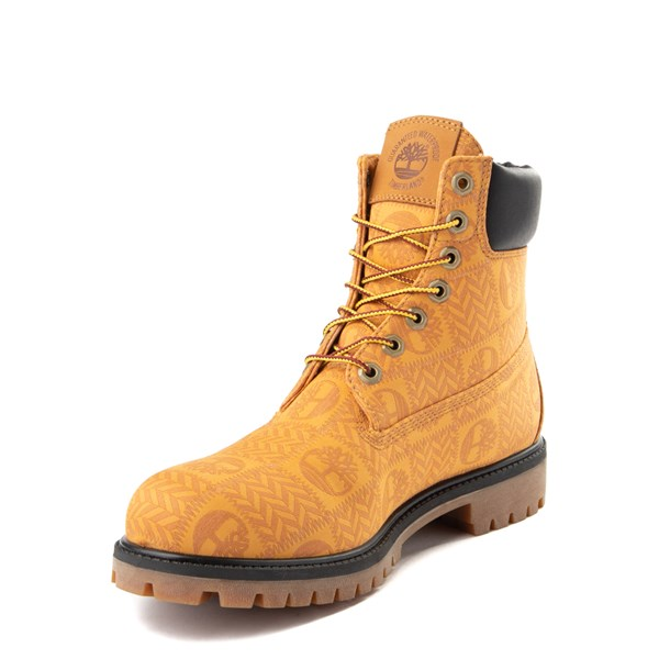 "alternate view Mens Timberland 6"" Premium Patch Boot - WheatALT3"