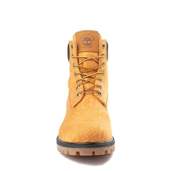 "alternate view Mens Timberland 6"" Premium Patch Boot - WheatALT4"