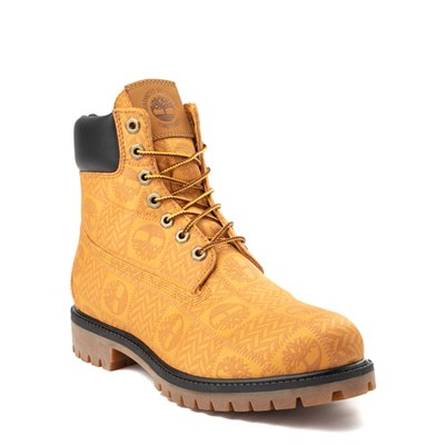 "Alternate view of Mens Timberland 6"" Premium Patch Boot - Wheat"