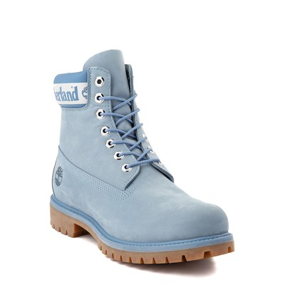 "Alternate view of Mens Timberland 6"" Classic Boot - Cornflower Blue"