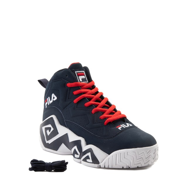 alternate view Fila MB Athletic Shoe - Little Kid / Big Kid - Navy / White / RedALT1