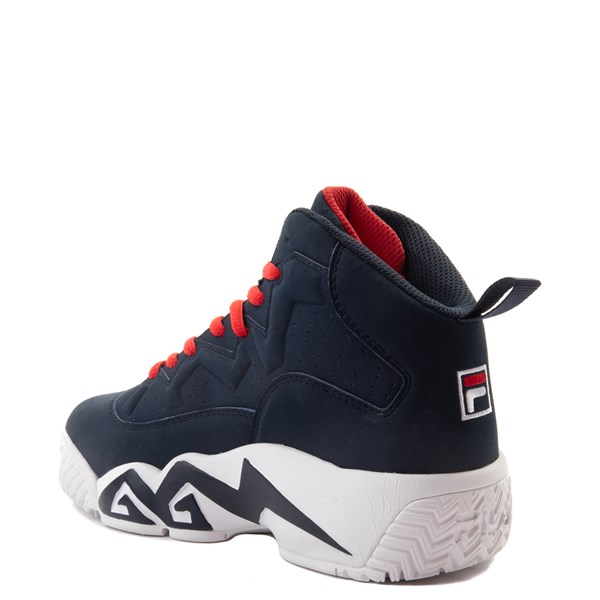 alternate view Fila MB Athletic Shoe - Little Kid / Big Kid - Navy / White / RedALT2