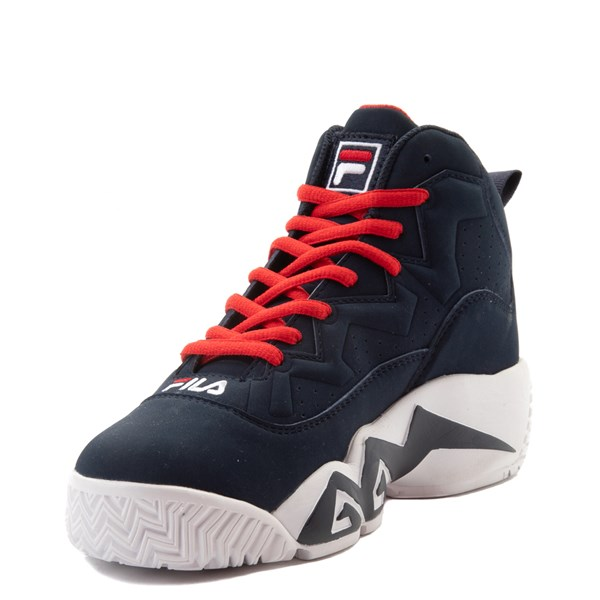 alternate view Fila MB Athletic Shoe - Little Kid / Big Kid - Navy / White / RedALT3