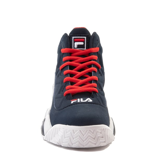 alternate view Fila MB Athletic Shoe - Little Kid / Big Kid - Navy / White / RedALT4