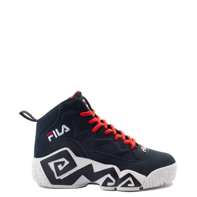 Main view of Fila MB Athletic Shoe - Little Kid / Big Kid - Navy / White / Red