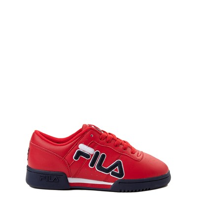 Main view of Fila Original Fitness Athletic Shoe - Big Kid - Red / Navy / White