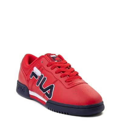 Alternate view of Fila Original Fitness Athletic Shoe - Big Kid - Red / Navy / White