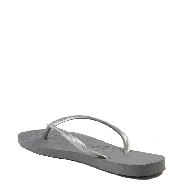 alternate view Womens Havaianas Slim Metallic SandalALT2