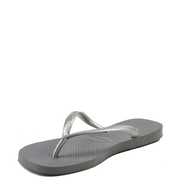 alternate view Womens Havaianas Slim Metallic SandalALT3