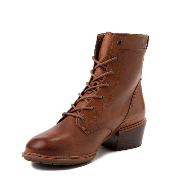 alternate view Womens Timberland Sutherlin Bay Boot - BrownALT3