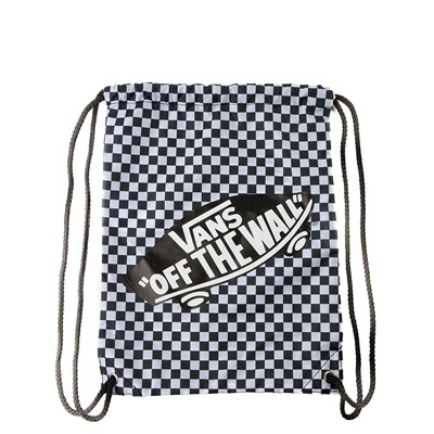 Main view of Vans Benched Cinch Bag - Black / White