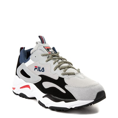 Alternate view of Mens Fila Ray Tracer Athletic Shoe - Gray / Black / Navy