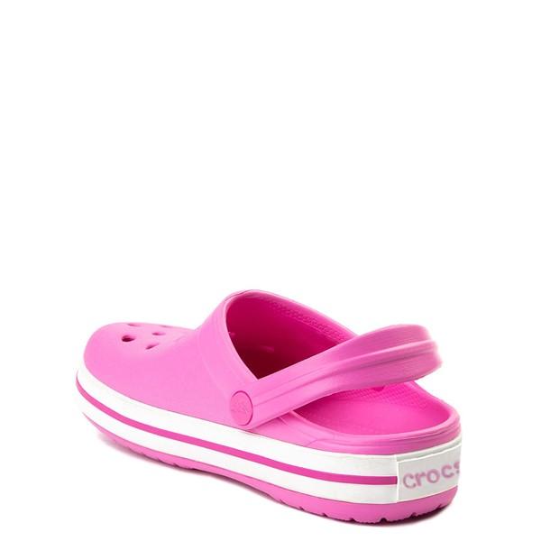 alternate view Crocs Crocband™ Clog - Baby / Toddler / Little Kid - PinkALT1