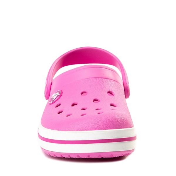 alternate view Crocs Crocband™ Clog - Baby / Toddler / Little Kid - PinkALT4