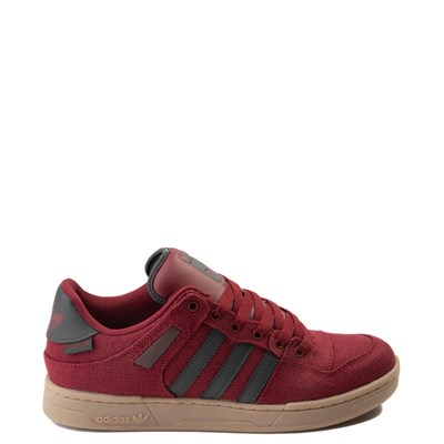 Main view of Mens adidas Bucktown Athletic Shoe - Burgundy