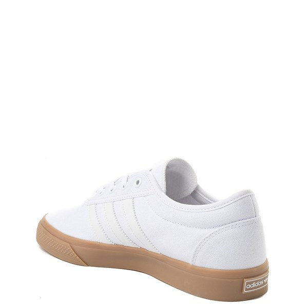alternate view Mens adidas Adi-Ease Skate Shoe - WhiteALT2
